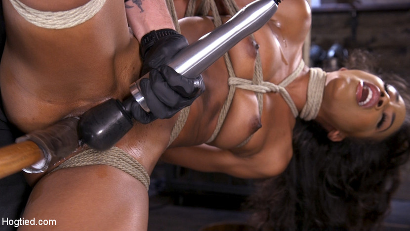 Kink.com hogtied Brand New Ebony Slut Demi Sutra Gets Tied and Tormented  WEBL-DL 1080p mp4
