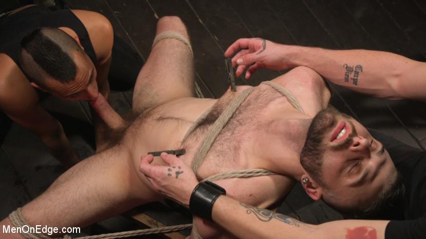 Kink.com menonedge William Crown Gets His Big Hard Dick Choked And Edged  WEBL-DL 1080p mp4