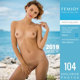 FEMJOY 2019 feat Ariel A. release January 1, 2019  [IMAGESET 4000pix Siterip NUDEART]