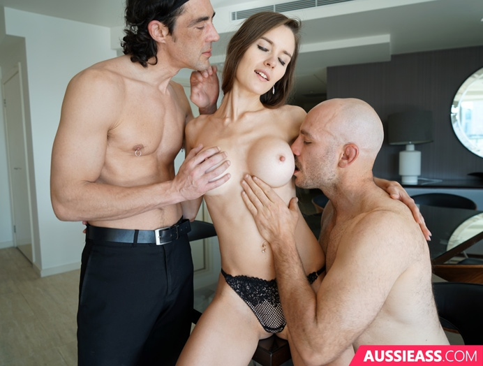 Aussie Ass 461  Charlotte fucks them both  Siterip Video 720p  mp4