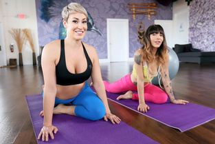 Kitty Carrera, Ryan Keely – Taking Hot Yoga To A New Level  SITERIP1080p wmv HD 1920×1000
