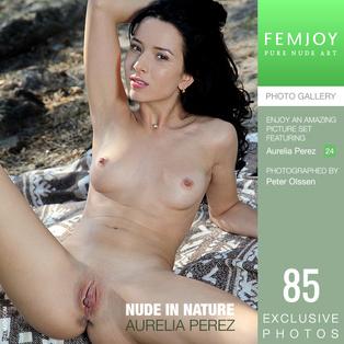 FEMJOY Nude In Nature feat Aurelia Perez release January 25, 2019  [IMAGESET 4000pix Siterip NUDEART]
