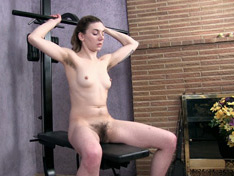 WeareHairy.com Lydia has a sexy naked workout planned for today  Video 1089p Hairy Closeup