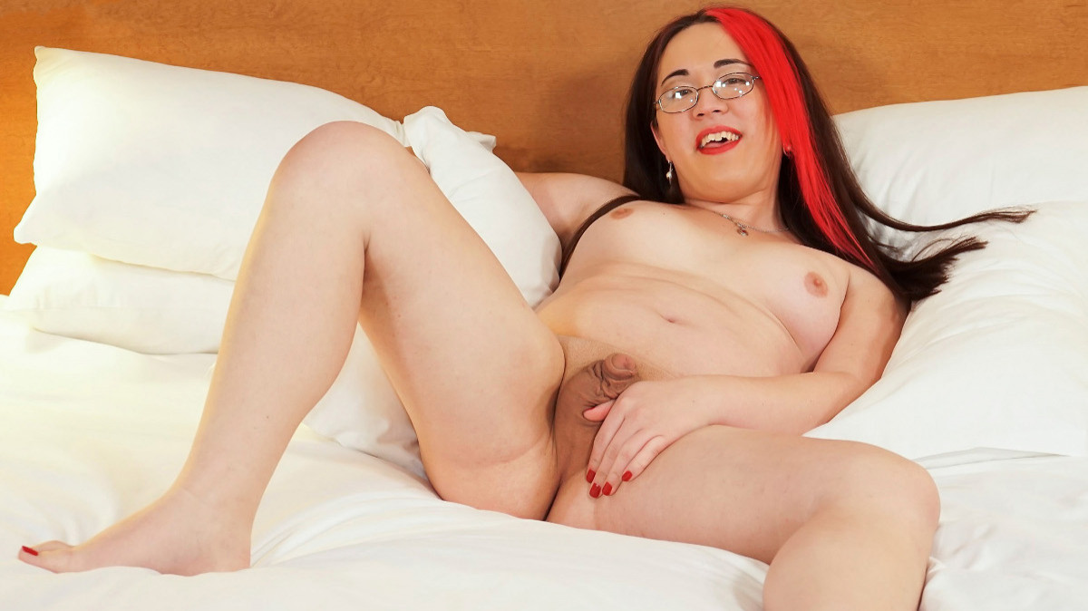 Groobygirls Try Out Tuesday: Lilith Scarlet Cums!  Tranny XXX Siterip