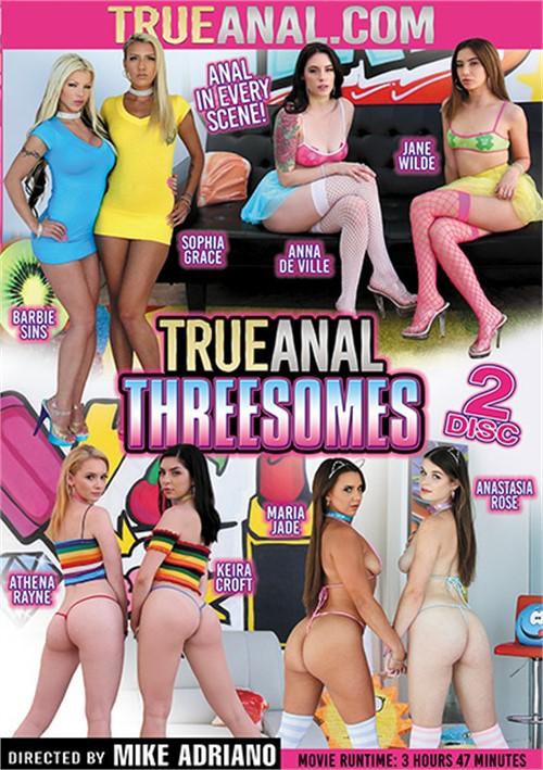 True Anal Threesomes DVD Release  [DVD.RIP. H.264 Production Year 2019]