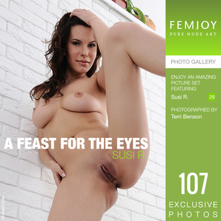 FEMJOY A Feast For The Eyes feat Susi R. release February 21, 2019  [IMAGESET 4000pix Siterip NUDEART]