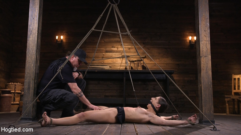 Kink.com hogtied Pain Slut Abella Danger Suffers in Grueling Predicament Bondage  WEBL-DL 1080p mp4