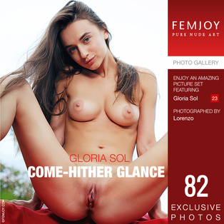 FEMJOY Come-Hither Glance feat Gloria Sol release February 18, 2019  [IMAGESET 4000pix Siterip NUDEART]