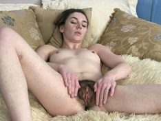 WeareHairy.com Lydia is super horny as she masturbates  Video 1089p Hairy Closeup