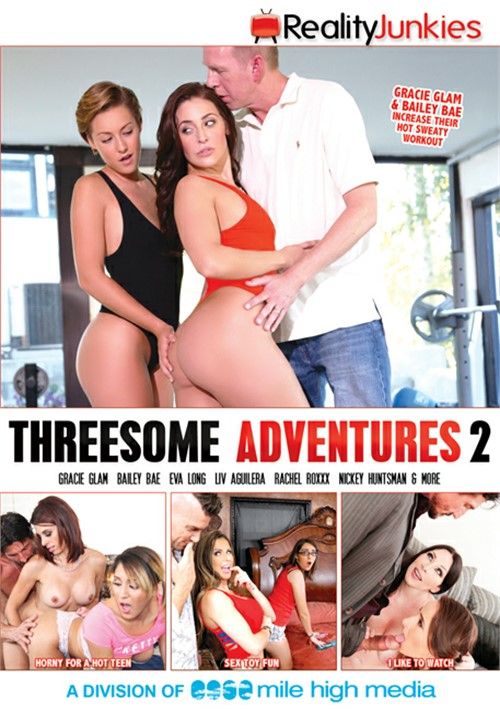 Threesome Adventures 2 DVD Release  [DVD.RIP. H.264 Production Year 2019]