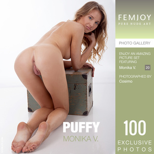 FEMJOY Puffy feat Monika V. release March 11, 2019  [IMAGESET 4000pix Siterip NUDEART]