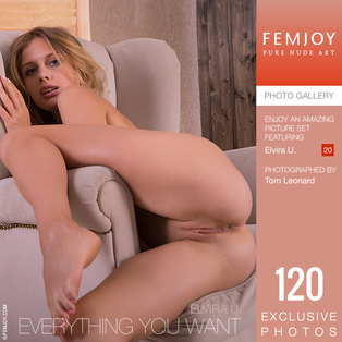 FEMJOY Everything You Want feat Elvira U. release March 4, 2019  [IMAGESET 4000pix Siterip NUDEART]