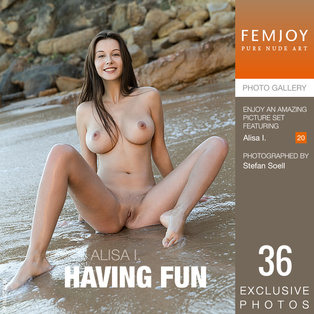 FEMJOY Having Fun feat Alisa I. release March 16, 2019  [IMAGESET 4000pix Siterip NUDEART]