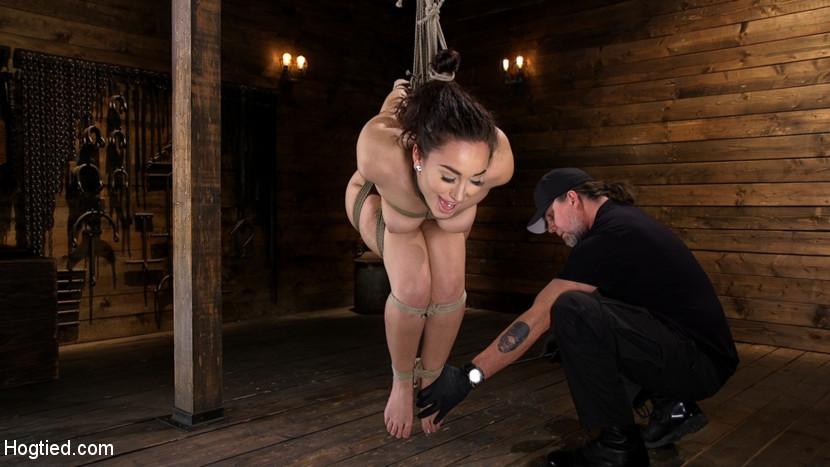kinkcom Curvy Slut Gabriella Paltrova in Grueling Rope Bondage and Tormented Feb 28, 2019 Webrip Multimirror Video H.264