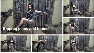 MANYVIDS RussianBeauty in Ripping jeans and blouse  Video Clip WEB-DL 1080 mp4