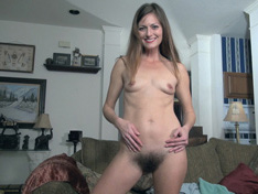 WeareHairy.com Vanessa Bush wears only a shirt to look sexy today  Video 1089p Hairy Closeup