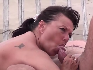 YourVoyeurVideos  Mature nudist blowjob and fuck SiteripCLIP Amateur XXX Siterip RIP