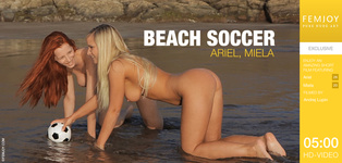 FEMJOY Beach Soccer feat Ariel release March 23, 2019  [IMAGESET 4000pix Siterip NUDEART]