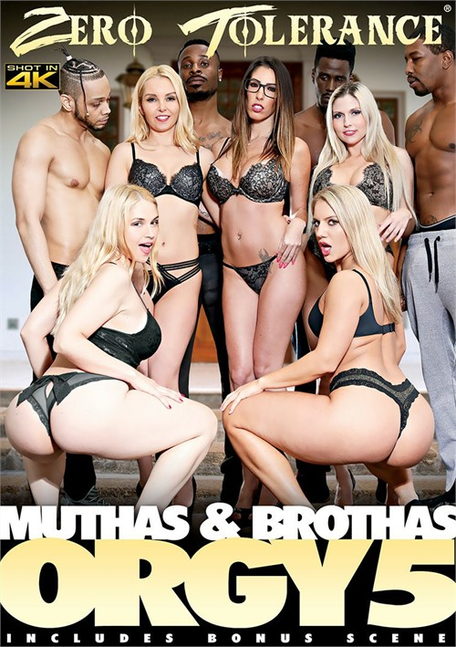 Muthas & Brothas Orgy 5 DVD Release  [DVD.RIP. H.264 Production Year 2019] Siterip RIP