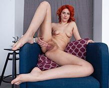 WeareHairy Kristina Amanda Kristina Amanda strips naked during her painting WEB-DL 720p Hairy/Unshaved/Natural