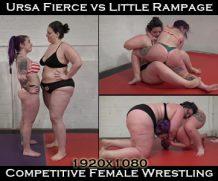 Clips4Sale Ursa vs Little Rampage: Competitive: April 2019 (1080 Full HD) #FEMALEWRESTLING  Doom Maidens Wrestling  WEB-DL Video Clips4Sale wmv+mp4 h.265