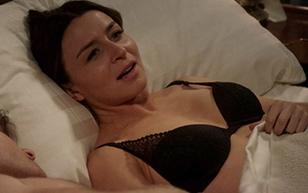 MrSkin Caterina Scorsone's Bra in Bed Scene in Grey's Anatomy  WEB-DL Videoclip