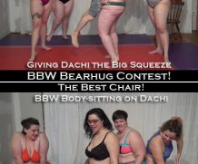 Clips4Sale 2 Videos: Bearhug Contest AND The Best Chair (Ursa, Kaia, Sweetie, Vera, and Dachi) 1280×720 #BBWDOMINATION  Doom Maidens Wrestling  WEB-DL Video Clips4Sale wmv+mp4 h.265