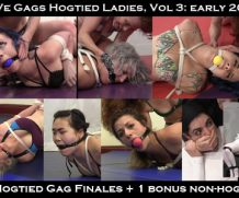 Clips4Sale VeVe Gags Hogtied Ladies, Vol 3: Compilation from early 2018 #BONDAGE  Doom Maidens Wrestling  WEB-DL Video Clips4Sale wmv+mp4 h.265