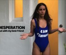 MANYVIDS LanaTy in LOCKED OUT! PEE DESPERATION W CHLOE  Video Clip WEB-DL 1080 mp4