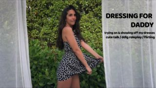 MANYVIDS LanaTy in DRESSING UP FOR DADDY – TRY ON  Video Clip WEB-DL 1080 mp4