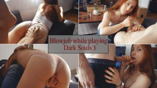 MANYVIDS TrishCollins in Blowjob while playing Dark Souls 3  Video Clip WEB-DL 1080 mp4