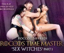 EvilAngel Time Master Sex Witches, Scene #01 feat Tina Kay  HD VIDEO Siterip 1080p HD
