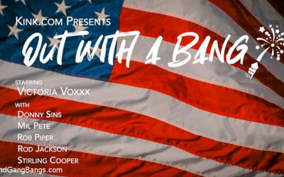 boundgangbangs boundgangbangs Out With A Bang: Victoria Voxxx's Firework Party Busted on 4th of July Jun 26, 2019[Kink.com]  Siterip BDSM h.264