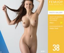 FEMJOY Oh How She Shines feat Alisa I. release July 6, 2019  [IMAGESET 4000pix Siterip NUDEART]