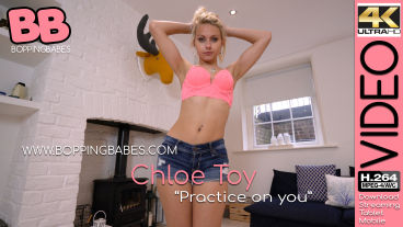 Boppingbabes Chloe Toy Practice On You  SITERIP Boppingbabes