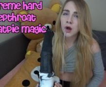 MANYVIDS MissPrincessKay in Extreme Hard Deepthroat Throatpie Magic  Video Clip WEB-DL 1080 mp4