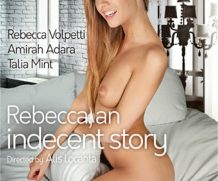 Rebecca, An Indecent Story DVD Release  [DVD.RIP. H.264 Production Year 2019]