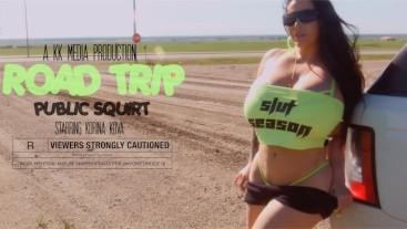 Modelhub korina-kova Road Trip Pt 2: Squirt fest  WEB-DL 1080p 4k Siterip Clip