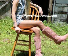 Clips4Sale 18yo Princess Tiffany Cowgirl in Daisy Dukes and Mocha Pantyhose MP4 1280X720 #PANTYHOSE/STOCKINGS  Real Pantyhose 18-19yo  Siterip Video wmv+mp4