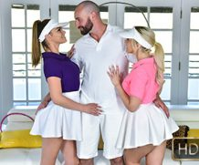 StepSiblings Allie Nicole and Athena Faris in Stepsister Tennis Sex  Teamskeet WEB-DL 2018 mp4