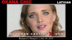 WoodmancastingX.com Oxana Chic Release: 23:25  WEB-DL Mutimirror h.264 DVX