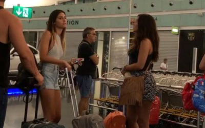 Asiansexdiary Braless Girl in Jean Shorts @ Airport Got Me All  ?  Siterip Video Asian XXX