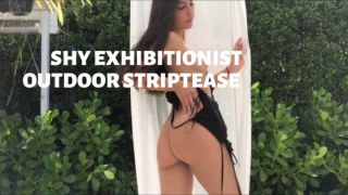 MANYVIDS LanaTy in SHY EXHIBITIONIST OUTDOOR STRIPTEASE  Video Clip WEB-DL 1080 mp4