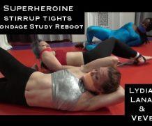 Clips4Sale Superheroine Stirrup Tights Bondage Study Reboot:  with Lana Luxor, Lydia Vengeance, and VeVe Lane (1080) #BONDAGE  Doom Maidens Wrestling  Siterip Video wmv+mp4