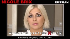 WoodmancastingX.com Nicole Brix Release: 1:06:28  WEB-DL Mutimirror h.264 DVX