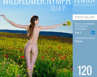 FEMJOY Wildflower Nymph feat Elle P. release September 4, 2019  [IMAGESET 4000pix Siterip NUDEART]