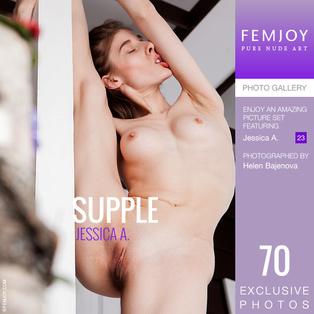 FEMJOY Supple feat Jessica A. release September 10, 2019  [IMAGESET 4000pix Siterip NUDEART] Siterip RIP