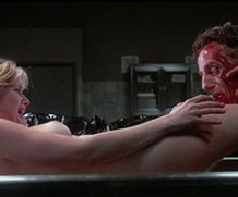 MrSkin TBT – Barbara Crampton's Amazing Nude Scene in Stuart Gordon's Re-Animator  WEB-DL Videoclip