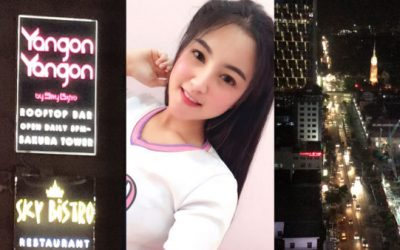 Asiansexdiary Yangon Yangon Sky Bar Revisit & Date Plans  Siterip Video Asian XXX