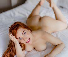 Suicidegirls The blue sky of a hot redhead  Siterip  Imageset 5200px  Multimirror